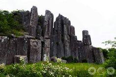 Seoseokdae Rock and Ipseokdae at Mudeungsan