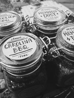 Label idea for Canning rubs. http://curlee.vsco.co/media/5213d36f5968087e6a00001f