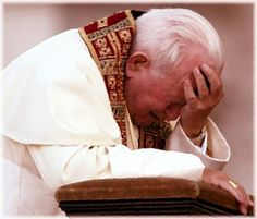 Papa Juan Pablo II. What did he see.....weeping for the world