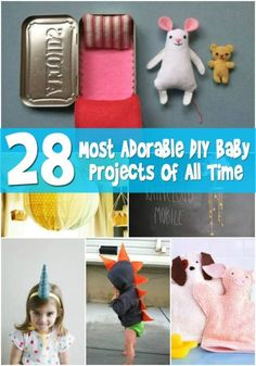 Top 28 Most Adorable DIY Baby Projects Of All Time - Page 3 of 4 - DIY & Crafts