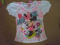 Resultado de imagen para blusas para niñas estampado MINNIE Baby Girl Shirts, Shirts For Girls, Tutu, Girl Outfits, Barbie, Tank Tops, Design, Minnie Mouse, Babies Clothes