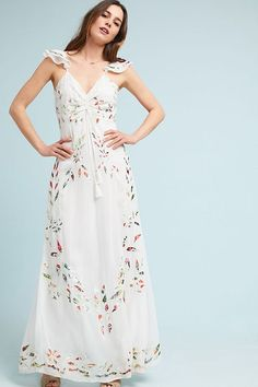 Slide View: 1: Farm Rio Quintana Maxi Dress
