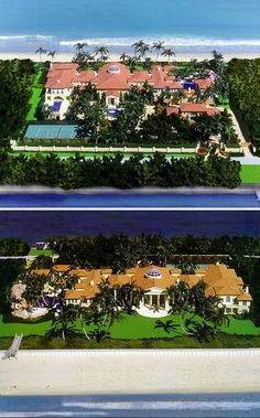10 of the World's Most Insanely Luxurious Houses- 9. The Manalapan Residence – the ultimate oceanfront estate home. $135,000,000