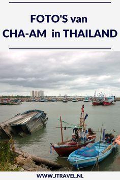 Cha-Am is een badplaats ten zuiden van Bangkok. Het strand in Cha-Am is het langste witte zandstrand van Thailand. Er zijn in Cha-Am een paar bezienswaardigheden. De foto's van Cha-Am zie je in dit artikel. Kijk je mee? #chaam #strand #thailand #fotos #jtravel #jtravelblog Thailand, Bangkok, Van, Blog, Instagram, Vans, Blogging