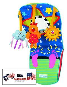 Amazon.com: Taf Toys Toe Time Infant Car Toy: Toys & Games