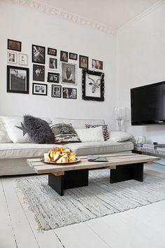 Gezellige witte woonkamer uit Zweden | Inrichting-huis.com