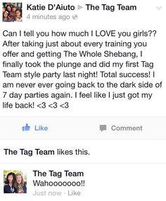 Yeeeeeeeeeessss!!!!! Say buh-bye to those long parties. Ain't nobody got time for that!!!! (Thanks for sharing Katie!!)