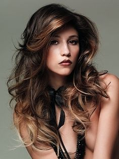 Uniformity is definitely not trendy. Strands are back in trend and is currently a lot of interest in celebrity hair style with streaks .  We will show you how the stars wear shaded hair and I'll show you how to use the stressed and unstressed strands
