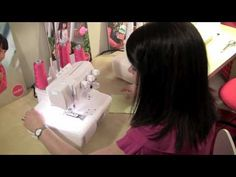 video series on how to work with knits Sewing Hems, Serger Sewing, Sewing Clothes, Serger Projects, Sewing Projects, Sewing Tutorials, Sewing Crafts, Mug Rug Patterns, Sewing Patterns