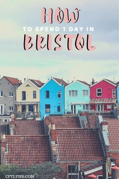 Are you planning a trip to England? Then Bristol surely is on your bucket list, this quirky city is the capital of street art and has plenty of things to do even if you only have a day trip! Find out the best things to do in Bristol with my 24 hours itinerary! Visit the old city, eat delicious cake at St Nicholas Market and more! Bristol is one of the best UK travel destinations make sure to add it to your travel list! #Bristol #England #travelingtips #travelguide #visitengland #citybreak Brisbane, Melbourne, Sydney, Europe Travel Guide, Travel Guides, Travel List, Travel Destinations, Travel Abroad, Amazing Destinations