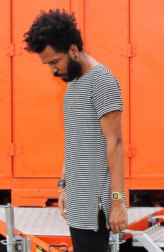 camiseta longline ,camiseta oversized Peça chave da estação