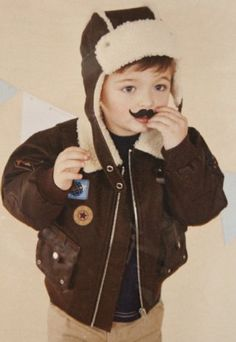 Fall 2012 Boys Aviator Jacket & Hat12 Months to 7 YearsSo Cute for Portraits!Now In Stock