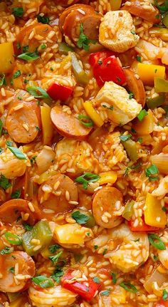 Homemade Jambalaya Recipe.~ it's a total winner!