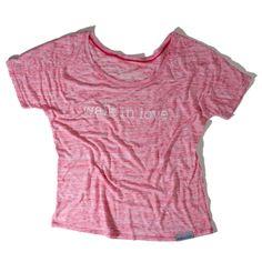 walk in love. Women's Flowy T-Shirt