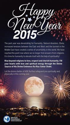 Imam Mehdi Gohar Shahi | News - Happy New Year 2015!