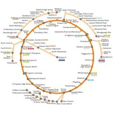 Diagram of completed circular London Overground network (image courtesy of Wikimedia Commons)