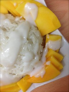 We Have a Lovely Home: Classic Scrumptious Thai Sticky Rice With Mango pressure cooker sticky rice
