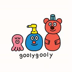 Grafolio Cute Animal Drawings, Cute Drawings, Cute Illustration, Character Illustration, Skateboard Design, Cute Cartoon Wallpapers, Cute Characters, Cute Stickers, Graphic