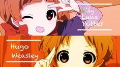 Lily Luna Potter & Hugo Weasley