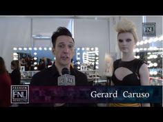 Rusk Artistic Director Gerard Caruso. #Rockabilly #hair #style #fashion #beauty