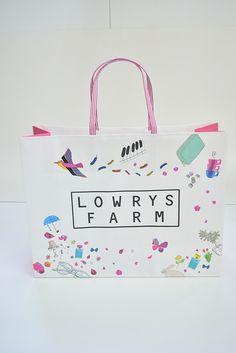 女の子のツボを押さえた人気ブランドの紙袋!   オリジナル紙袋印刷・手提げ袋・製造印刷 berry B ベリービー
