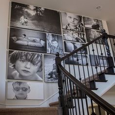 Design photo wall or how to decorate with family pictures - wall decor ideas fa. - Design photo wall or how to decorate with family pictures – wall decor ideas fancy decor ideas f - Stairway Gallery Wall, Gallery Wall Layout, Stairway Picture Wall, Stairway Art, Stair Gallery, Picture Walls, Art Gallery, Gallery Walls, Family Pictures On Wall