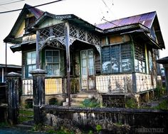 old style house from a bygone era