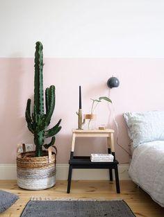 Minimal Pink \ Bedroom Interior Design \ Home Decor Home Bedroom, Bedroom Decor, Bedrooms, Bedroom Ideas, Wall Decor, Bedroom Furniture, Bedroom Styles, Master Bedroom, Bedroom Plants