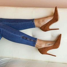 38 Ankle Designer High Heels That Will Make You Look Great - Boot Heels - Ideas of Boot Heels - Awesome Street Shoes Dream Shoes, Crazy Shoes, Stilettos, Stiletto Heels, Pumps Heels, Cute Shoes, Me Too Shoes, Boy Shoes, Girls Shoes