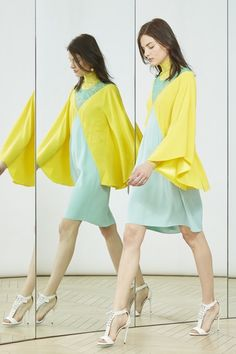 Alexis Mabille Pre Spring Summer 2016 Women's fashion color trends