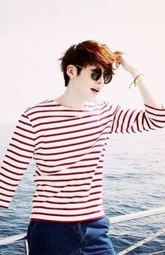 Kim woo bin~ makes me wanna go on a yacht with him :p