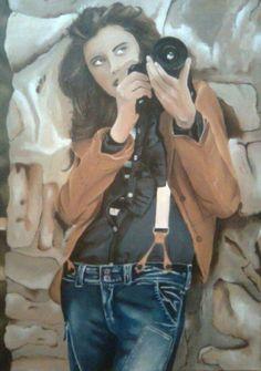 Oil painting 60x80cm, author: Lucie Přikrylová