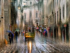 Rainy Cityscape Photography  Eduard Gordeev is a talented photographer based in St. Petersburg. The artist captures artistic photos of cityscapes in the rain. The resulting images are atmospheric and gives an impression of the effects of acrylic paints. These urban streets and architectures totally soaked seem mysterious.
