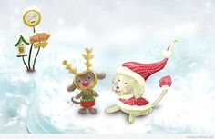 Funniest wallpaper for Christmas ✿