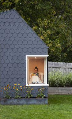 Backyard Studio, Garden Studio, Backyard For Kids, House Cladding, Exterior Cladding, Concrete Siding, Siding Options, Cladding Materials, Renovation Budget