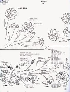 지난번 올린 야생화 매트 도안과 같은 시리즈의 도안입니다. 참고로 이 시리즈에서 사용한 실은 일본 코스...