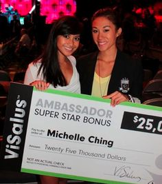 """Interview: Michelle Ching Overcomes Recession with ViSalus Success   ViSalus Blog """"One of the Youngest ever Vi Ambassadors."""" Started business in college, while bartending part time....Super wealthy by age of 26.  Go Girl!"""