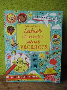Cahier d'activités spécial vacances Editions Usborne
