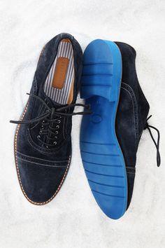 Leather brogue ($325) by Bespoken, bespokenclothiers.com.   - Esquire.com
