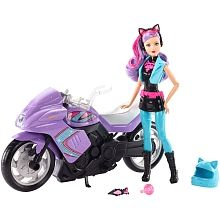 Barbie - Spy Squad Doll and Motorcycle