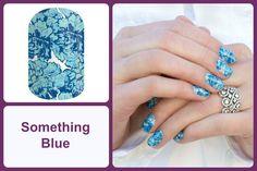 SOMETHING BLUE Jamberry Nail Wrap #somethingbluejn