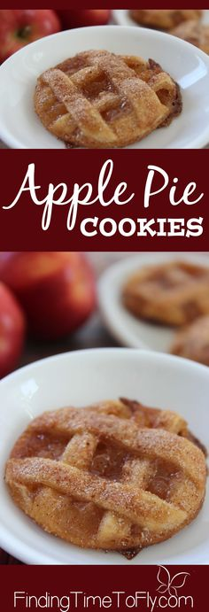 All the taste of Apple Pie in a cute little package. Plus, these have caramel…