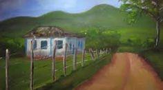 Resultado de imagem para pinturas em telas casinha da roça