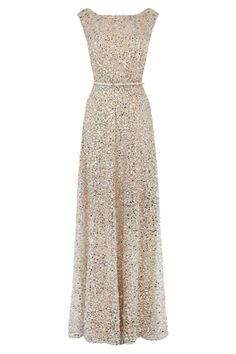 Desire sequin maxi dress from Coast £550 (Nice for a black tie NYE party- glitzy but not flashy)