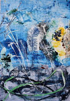 Ana Pomar- Monotipos | GALERIA Night, Artwork, Painting, Orchards, Printmaking, Colors, Art, Work Of Art, Auguste Rodin Artwork