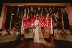 Mumbai Wedding With A Pretty Nikkah Ceremony & Swoon-Worthy Bridal Looks To Save! - Witty Vows Nikah Ceremony, Reception Gown, Silver Gown, Cocktail Outfit, Wedding Highlights, Wedding Entertainment, Bridal Looks, Real Weddings, Mumbai