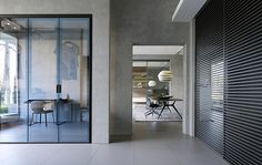 Showroom Munich | Rimadesio worldwide: sliding doors systems, living area, complements, doors, walk-in closet