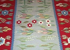 """Country of OriginRomania    Dimensions3' x 5' 3""""    Fiber ContentWool  Approximate Year1970  Available for $295.00    Pasadena Antique Center480 S. Fair Oaks Ave • Pasadena, CA 91105  480 S. Fair Oaks Ave • Pasadena, CA 91105  (626) 487-9651"""