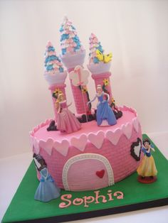 Princess Cake Auckland $299 (figurines bought from a licensed retailer)