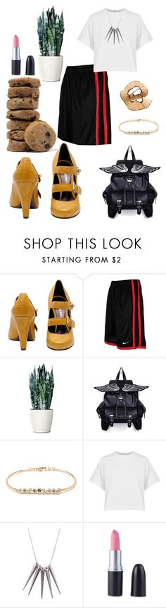 """Impact..."" by black-wings ❤ liked on Polyvore featuring NIKE, Kimberly McDonald, dVb Victoria Beckham and Gathering Eye"